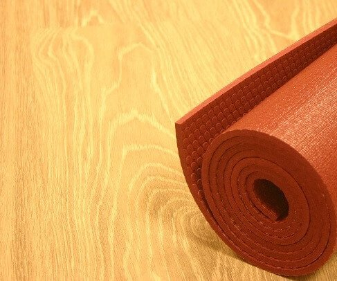 Red Yoga Mat in Singapore for Yoga Professionals