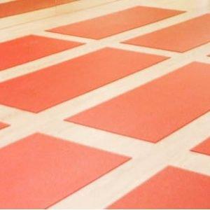 Red Yoga Mat in Singapore at Yoga Mala Studio