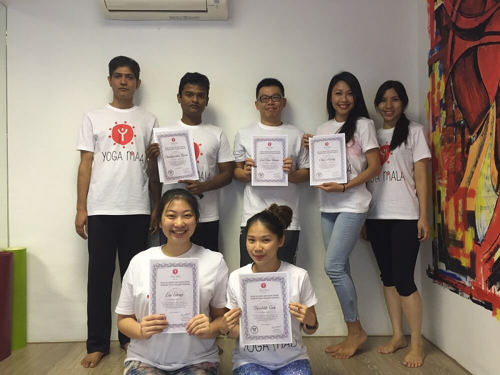 Yoga Mala Teacher Training-Oct-Nov2015 Batch Pic-3