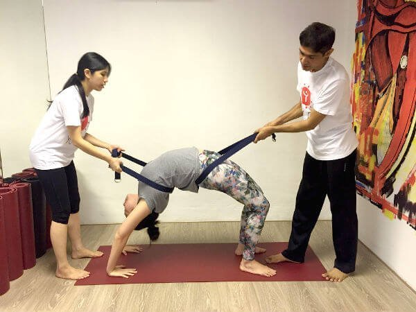 Yoga Teacher Training Singapore Participant