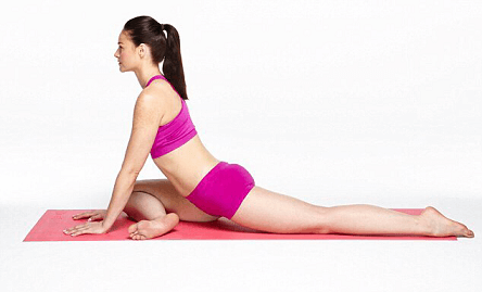 Lower Back Pain - Pigeon Pose