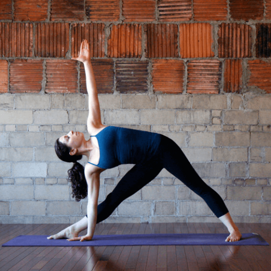 Lower Back Pain - Triangle Pose