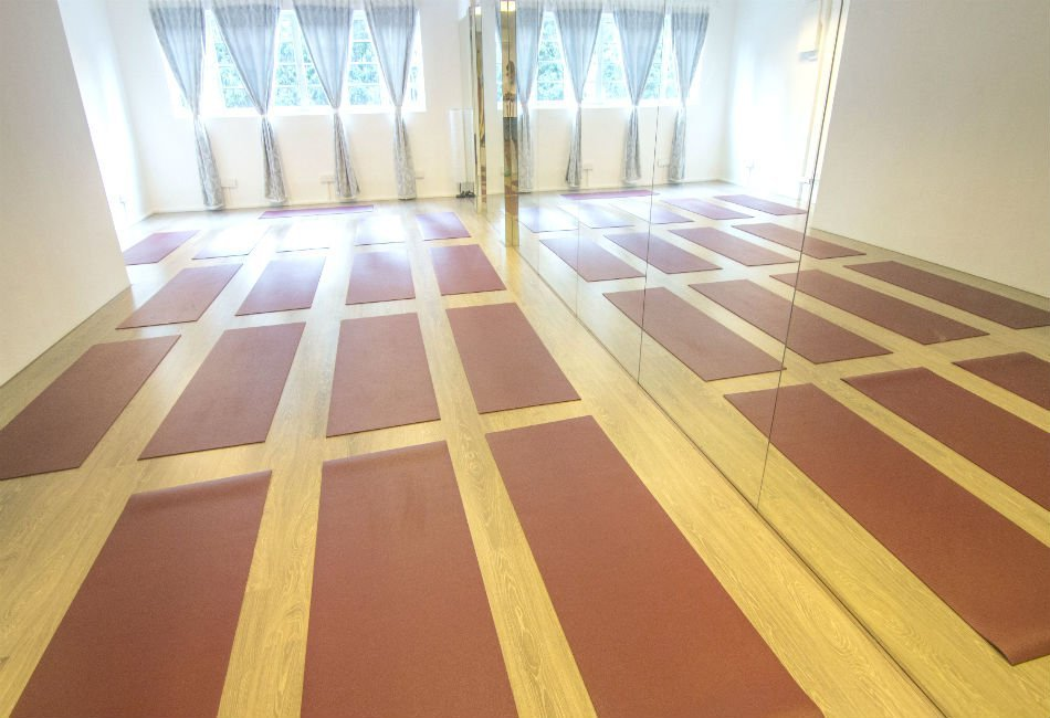 Yoga Mala Yoga Studio Rental Empty Hall