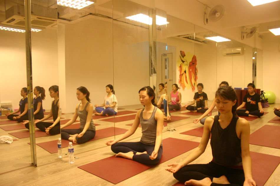 Meditation at Yoga Mala Studio Singapore