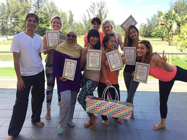 Yoga Teacher Training Participants