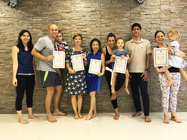 Yoga Teacher Training Singapore Participants